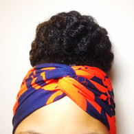 Fire Engine Turban Headband