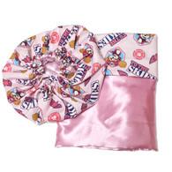 Paw Patrol Skye Satin Bonnet and Pillowcase Set