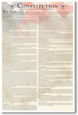 U.S. United States Constitution Classroom American Government History Social Studies Poster (ss106) PosterEnvy