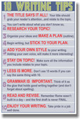 10 Writing Tips