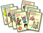 8 Poster Set - The Parts of Speech Educational