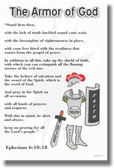 The Armor of God - NEW Religion Poster