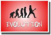 Bass Evolution - Black - NEW Music Poster