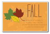 Fall - NEW Seasonal Classroom Poster