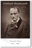 Charles Baudelaire - NEW Famous Person Poster
