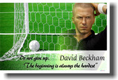 David Beckham - Do Not Give Up The Beginning Is Always the Hardest