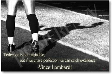 Vince Lombardi football motivational classroom PosterEnvy poster