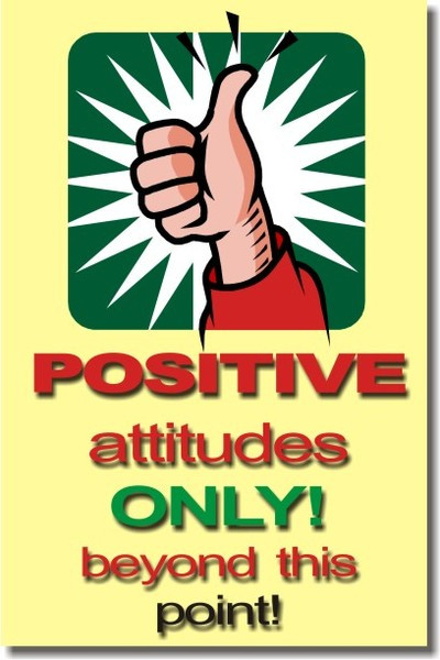 Only Positive Vibes For Everyone Find More Positive: Positive Attitudes Only Beyond This Point