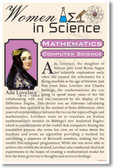 Ada Lovelace - High School - Poster Print Gift