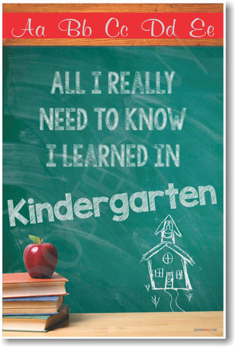 All I Really Need To Know I Learned in Kindergarten 2 THUMB with watermark  24863.1424120054.380.500 - Everything I Learned I Learned In Kindergarten