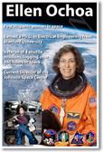 Ellen Ochoa - First Hispanic Female Woman in Space - NEW NASA American Astronaut Space Poster (fp374) PosterEnvy