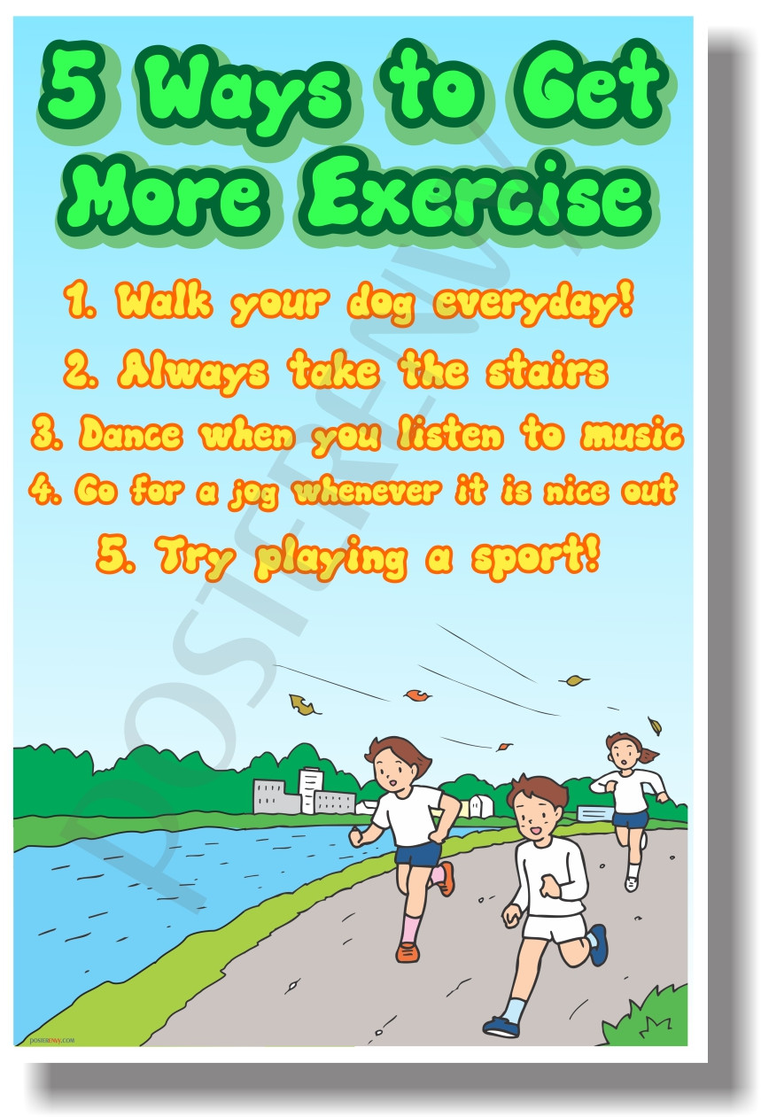 5 Ways To Get More Exercise