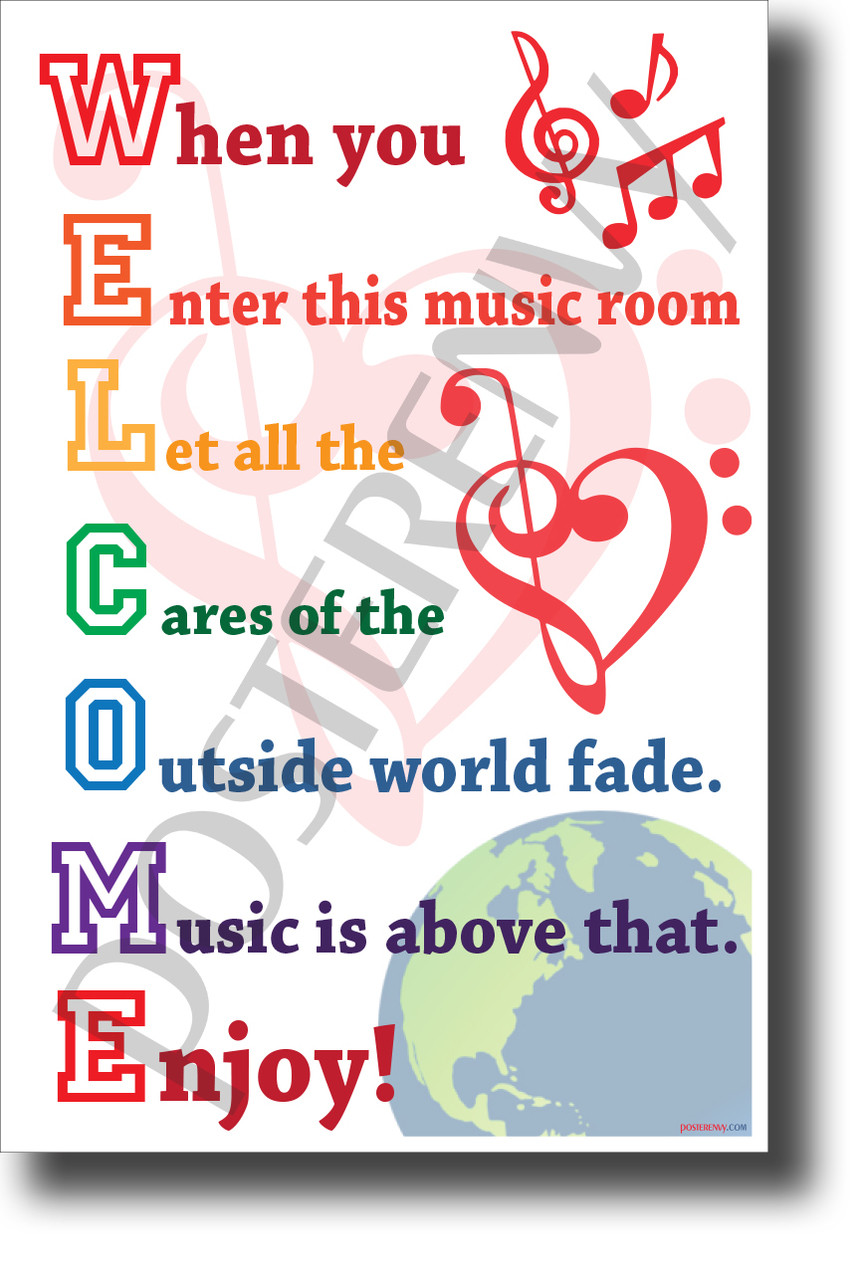 Welcome When You Enter This Music Room New Music