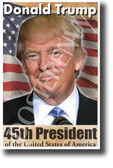 Donald Trump 45th President of the United States of America NEW Classroom Poster (fp459) politician election 2016 history american