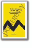 In the Book of Life - Charlie Brown - NEW Funny Novelty Peanuts Poster