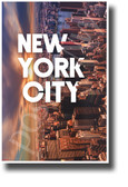 New York City, New York - NEW U.S State City Travel POSTER (tr605)