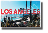 Los Angeles, California - NEW U.S State City Travel Poster
