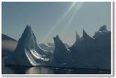 Melting Iceberg Antarctica Global Warming Climate Change PosterEnvy Ecology Poster