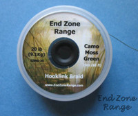 END ZONE RANGE HOOK LINK BRAID-Camo Moss Green