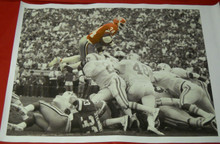 HERSCHEL WALKER GEORGIA BULLDOGS HUGE 28 X 38 FILTERED IMAGE CANVAS