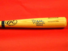 BROOKS ROBINSON AUTOGRAPHED BALTIMORE ORIOLES BASEBALL BAT AAA HOF INSCRIPTION