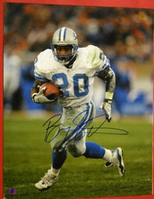 BARRY SANDERS DETROIT LIONS AUTOGRAPHED 16X20 PHOTO SCHWARTZ SPORTS