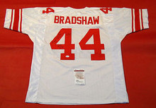 AHMAD BRADSHAW AUTOGRAPHED NEW YORK GIANTS JERSEY JSA ALL IN SUPER BOWL XLVI