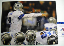 TONY ROMO DALLAS COWBOYS AUTOGRAPHED 16X20 PHOTO AAA
