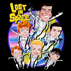 Lost in Space Art T-Shirt
