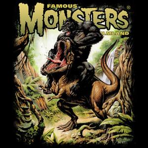 Kong VS Rex T-shirt
