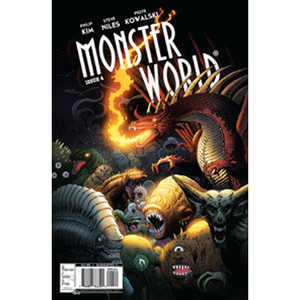 Monster World #4 Cover A Piotr Kowalski