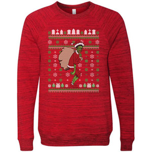 Shock Monster Grinchmas Ugly Holiday Sweater