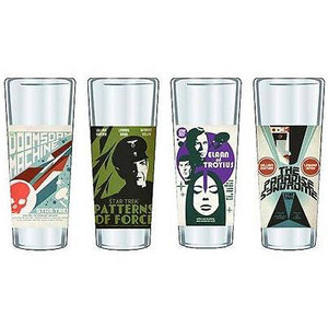 Star Trek Fine Art Shot Glasses Set 2