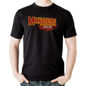 Famous Monsters Convention Dallas Logo Tee