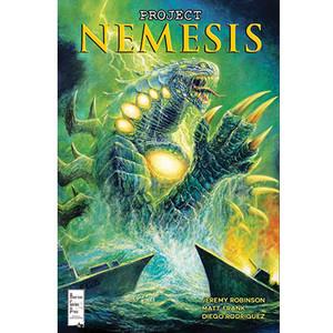 Project Nemesis #4 Incentive Cover Bob Eggleton