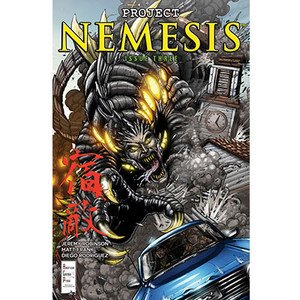 Project Nemesis #3 Cover A Matt Frank