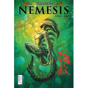 Project Nemesis #1 Cover B Bob Eggleton
