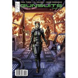 Gunsuits #1 Cover B Darick Robertson