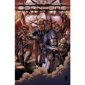 Bornhome #4 Cover B Darick Robertson