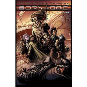 Bornhome #3 Cover B Darick Robertson