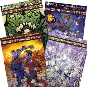 Bornhome Comic Book Bundle