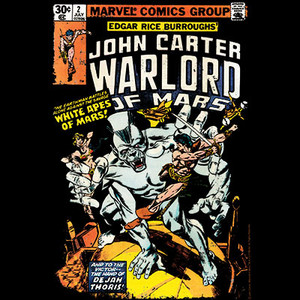 Marvel Comics John Carter #2 (1977) T-shirt