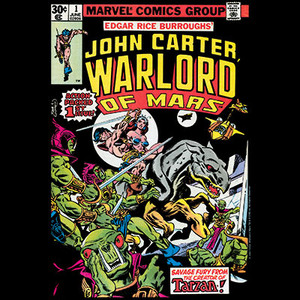 Marvel Comics John Carter #1 (1977) T-shirt