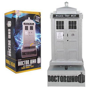 Doctor Who 50th Anniversary Tardis Bobble Head (with sound)