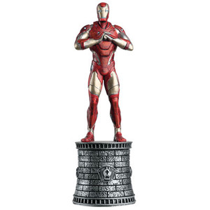 Marvel Chess Collection: Iron Man (White Bishop)
