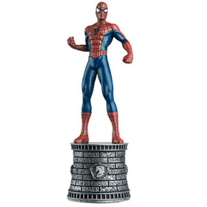 Marvel Chess Collection: Spider-Man (White King)