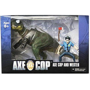 Axe Cop and Wexter 2-piece Box Set