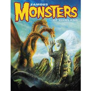 SDCC Exclusive Godzilla VS Ghidorah Poster