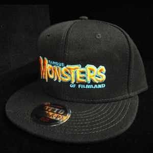 Orange FM Logo Snapback Cap (Black)