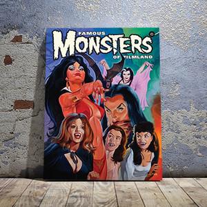 Vampiresses Canvas Print